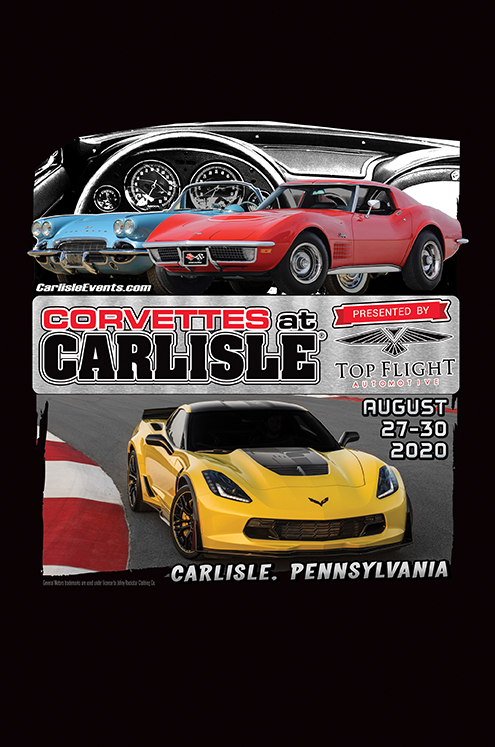 2020 Corvettes at Carlisle
